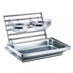 Stainless Steel Buffet Combined Rack