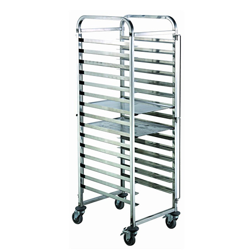 15 Pan End Load Half Height Bun / Sheet Pan Rack