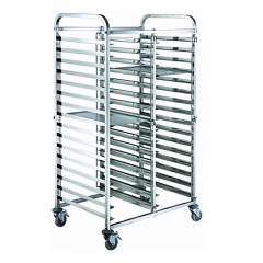 30 Pan End Load Half Height Bun / Sheet Pan Rack