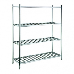 1.2m Length Stainless Steel Storage Rack