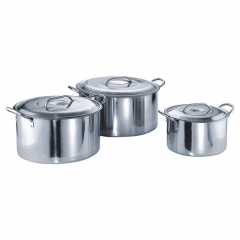 9 Liters Stainless Steel Stock Pot